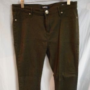 Brown/green Skinny jeans